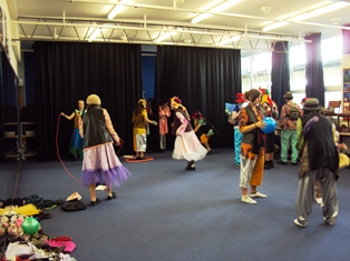 objectives of folk dance
