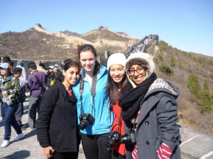 on the Great Wall of China-616