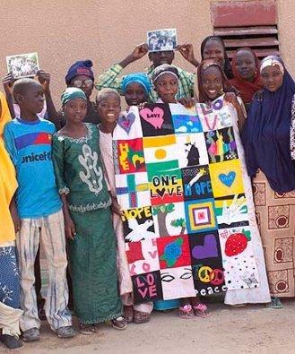 niger village quilt