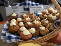 Selection of All Good banana muffins