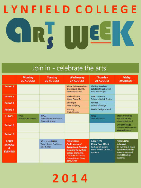 Arts Week poster 2014(copy)