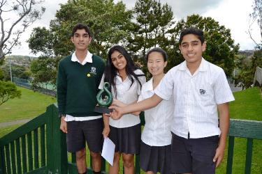 Group of the Year Lynfield 1 Junior Debaters