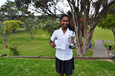 Jayshri Ratnam Year 9 Performer of the Year