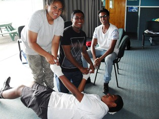 Gateway Programme First Aid Course - Feb 2015 (24)