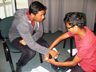 Gateway Programme First Aid Course - Feb 2015 (5)